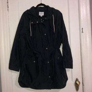 Navy Anorak Rain Jacket